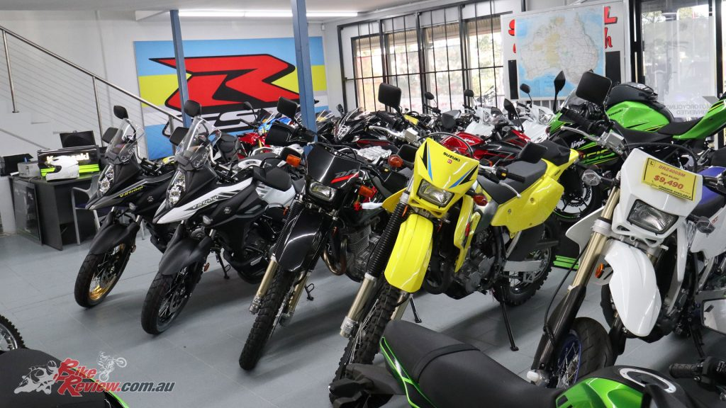 Moto Hub are a Suzuki dealership, with bikes and spares in stock ready to go.