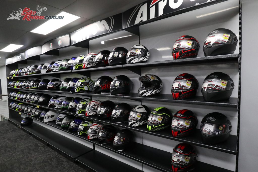 Moto Hub stock a massive range of helmets and other riding gear.