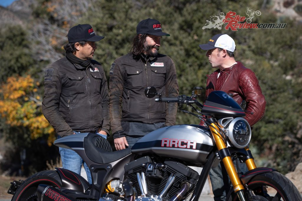 The ARCH KRGT-1 is the brainchild of business partners Gard Hollinger and Keanu Reeves.