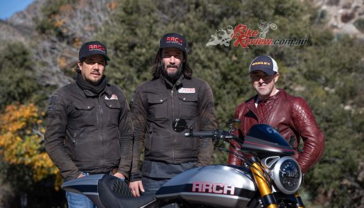 Interview: Keanu Reeves and Gard Holinger, ARCH Motorcycles