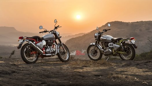 New Model: Video & Gallery, Royal Enfield Bullet Trials Works Replica