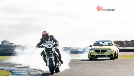 BMW Motorrad & BMW M team up for Phillip Island Fun!