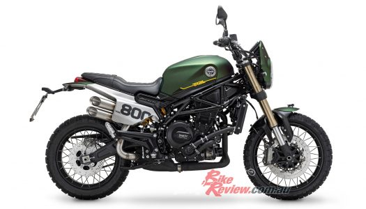 New Model: 2020 Benelli Leoncino Trail, EICMA 2019
