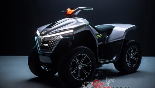 All Electric ATV concept from CFMoto called Evolution A