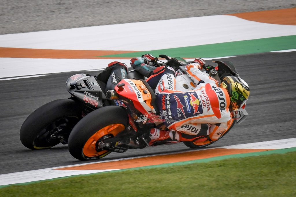 Can Marquez keep his title as the champion, after recent shoulder surgery?