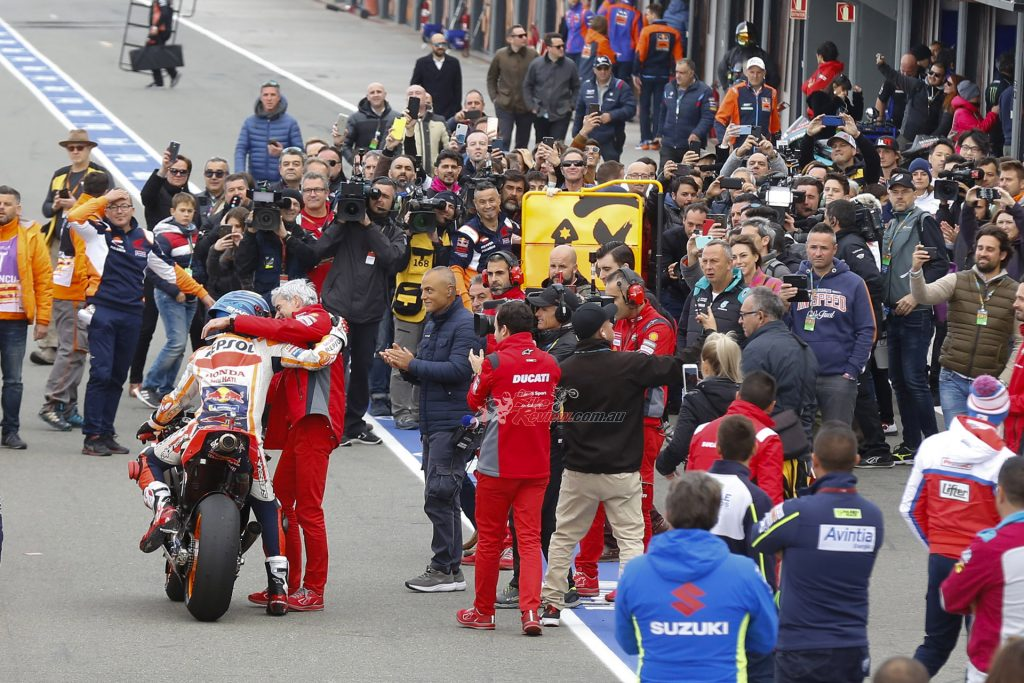 When racing returns, there are plans to limit the number of team staff, press and organisers at any given event.