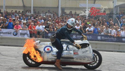 MDM Visits BMW Motorrad Days