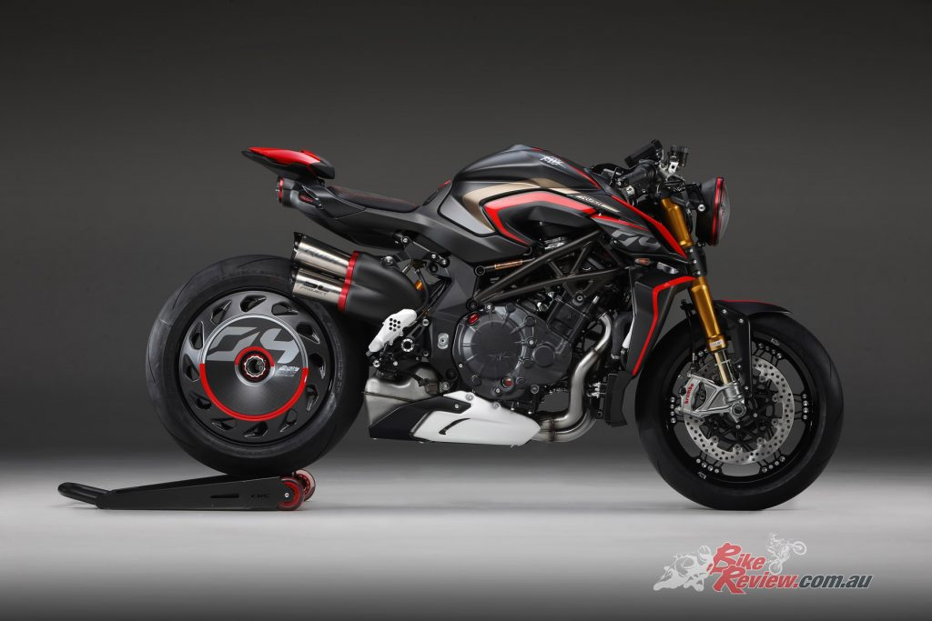 MV Agusta's engineering know-how is packed into the Rush 1000 and draws on Formula1 and MotoGP technology.