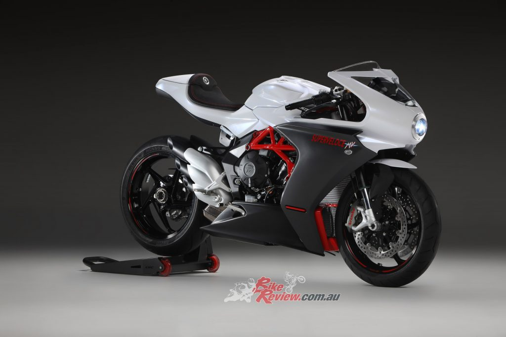 The MV Agusta Superveloce Serio Oro.