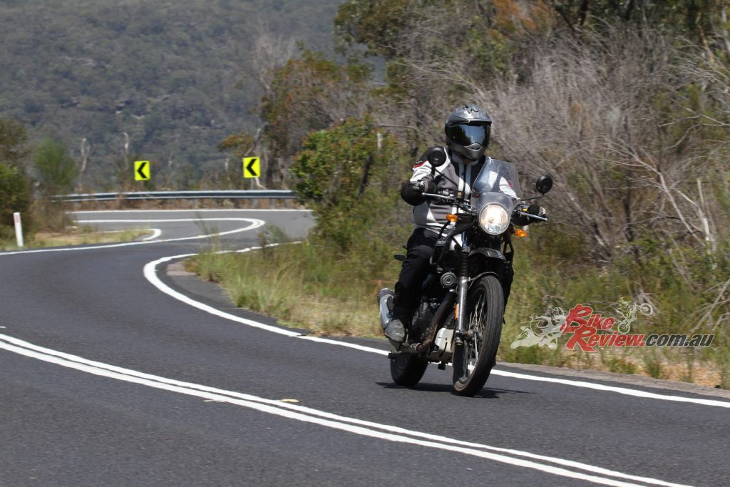 Also leading Royal Enfield's sales is the Himalayan, an affordable, retro-styled adventure touring machine.