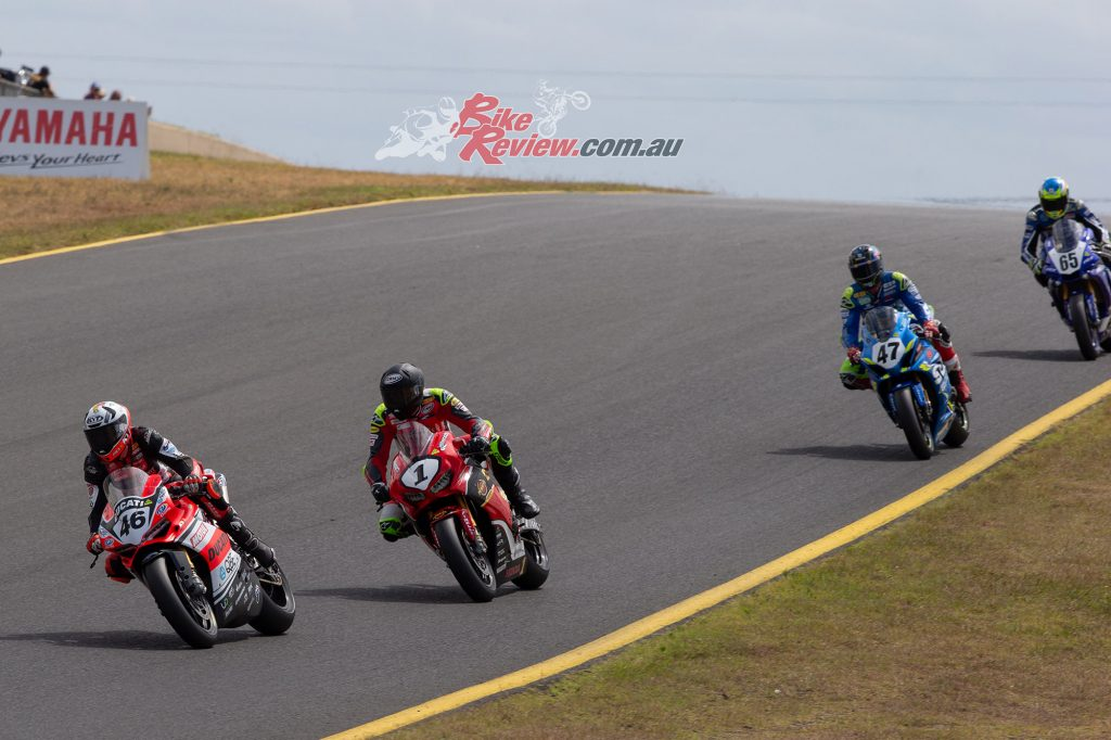 ASBK Management thank the paddock for their patience and applaud them for their flexibility and support.