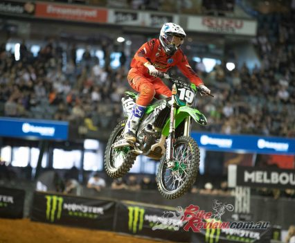 American Bradley Taft, Empire Kawasaki Team. Pic: Foremost Media.