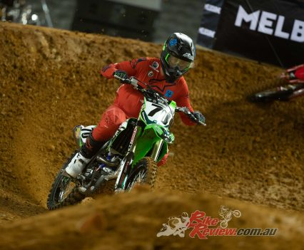 Lawson Bopping, Empire Kawasaki Team. Pic: Foremost Media.