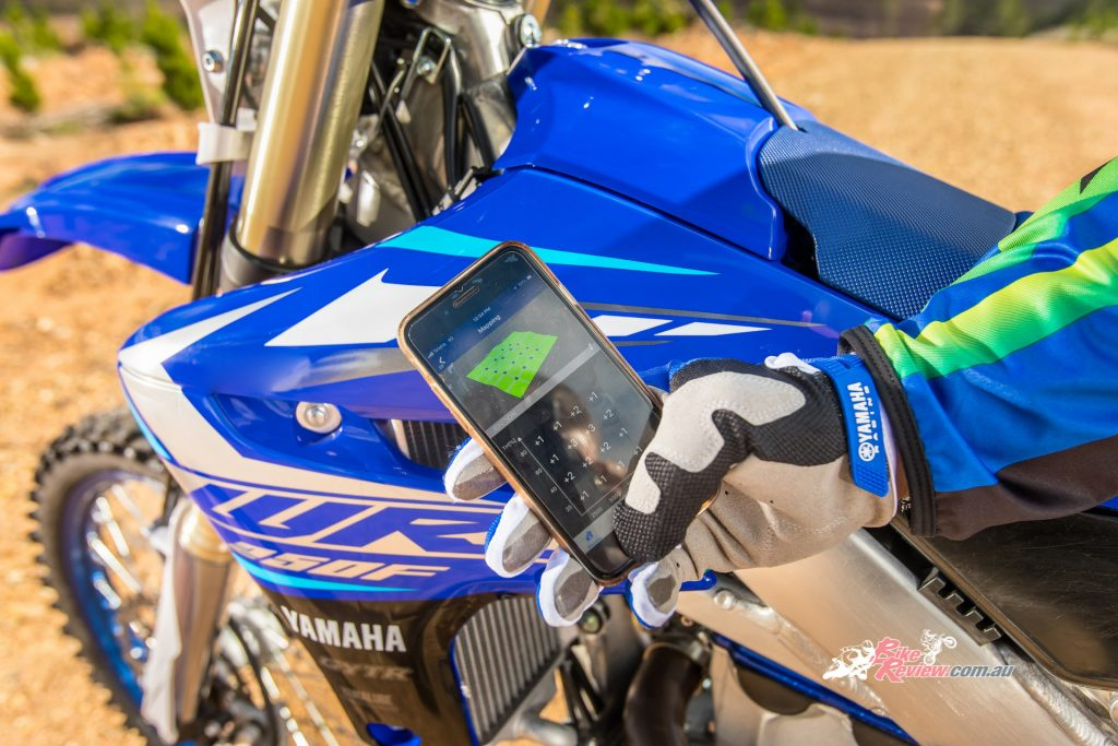New smartphone tuning allows for easy trackside tuning through the Power Tuner mobile app.