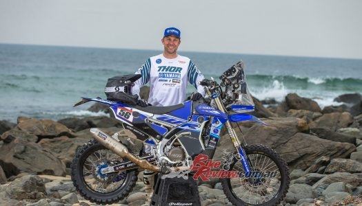 Yamaha dealer Rodney Faggotter returns to the Dakar Rally on a WR450F!