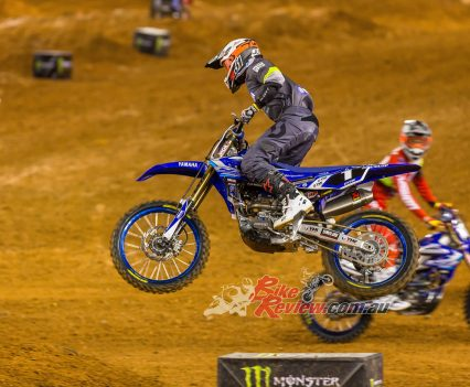 Wilson has finished third in the SX2 championship for 2019.