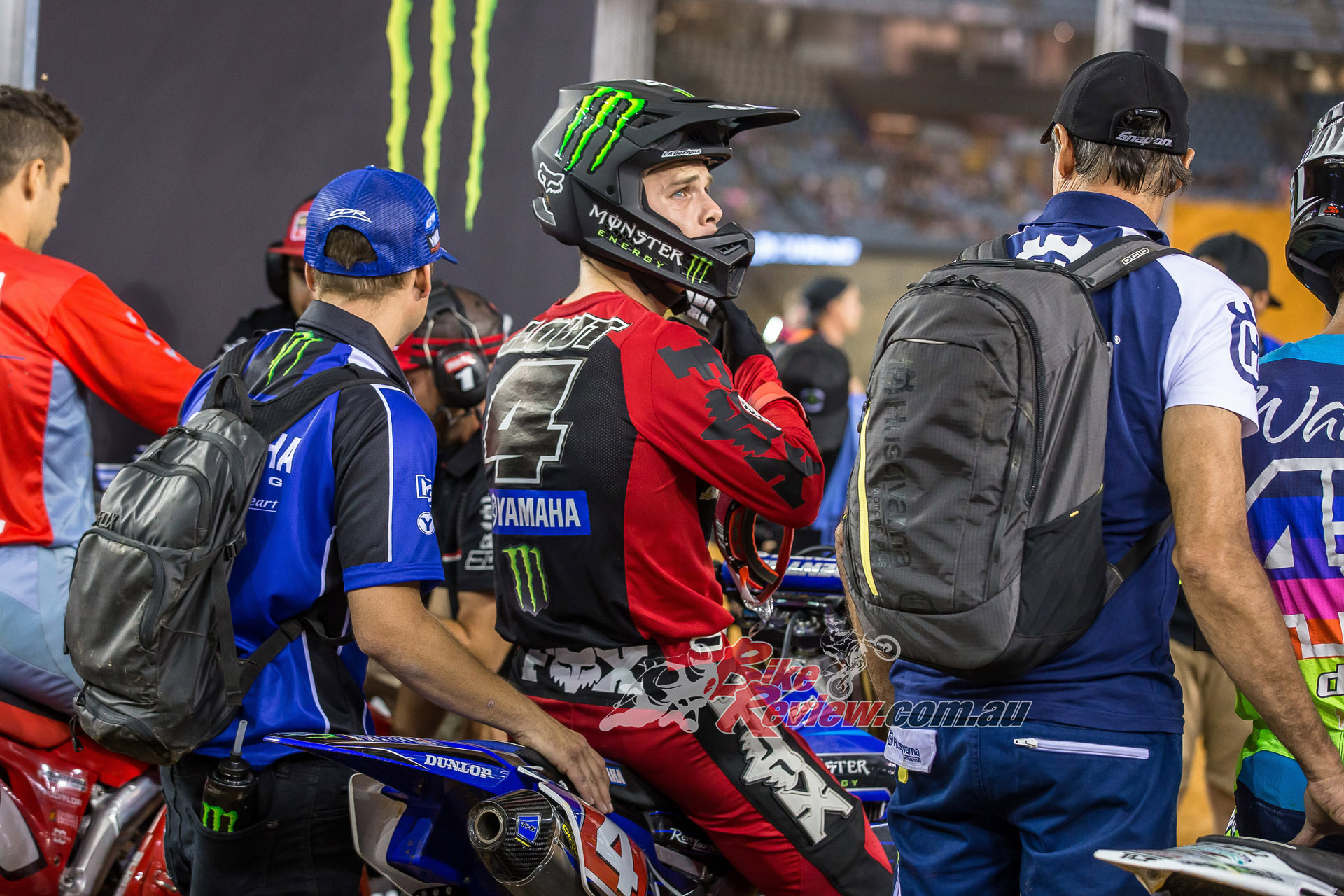 Yamaha Racing Technicians Up Close And Personal Bike Review