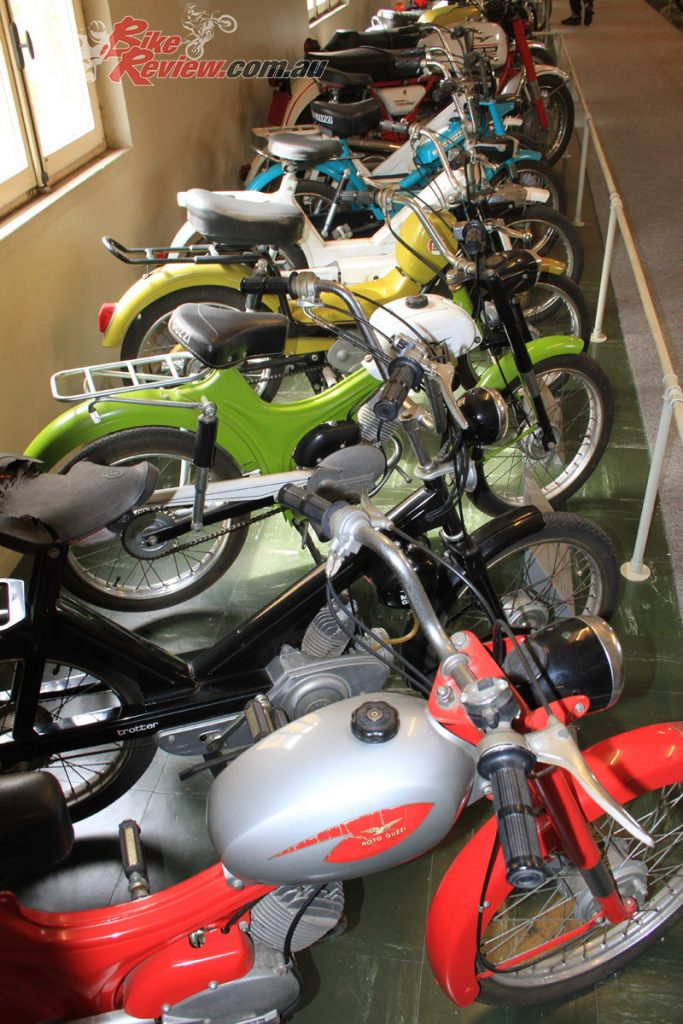 Although the factory is host to a large amount of classic and vintage bikes, it's much more then a museum...