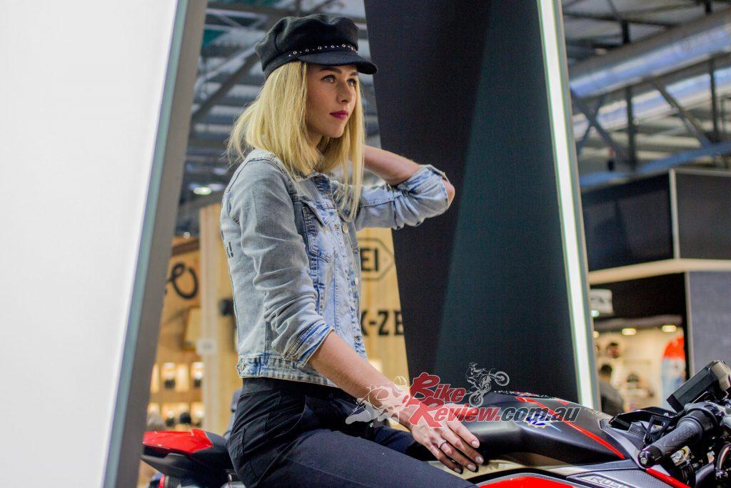 Anastasia Tekunova on an MV.