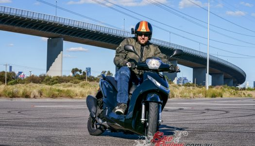 Video Review: Peugeot Belville 200 scooter