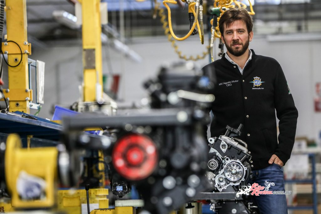 In 2019, the Sardarov family acquired 100% of MV Agusta's capital, with Timur Sardarov leading the company.