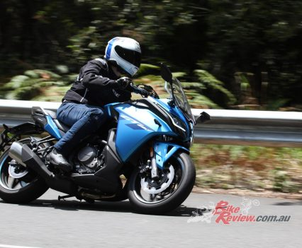 The CFMoto 650GT is capable and great fun through the twisties. The KYB suspension is plush but the bike remains balanced.