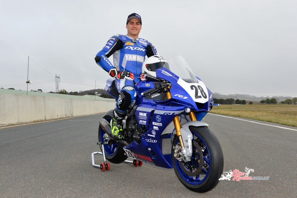 Before YRT, Wagner was racing on Yamahas and says that the transition to the factory bike from his previous has been smooth.