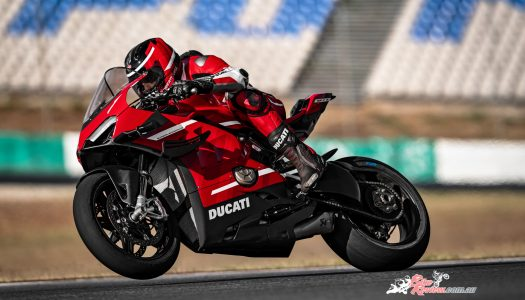 Superleggera V4: Ducati's flagship superbike