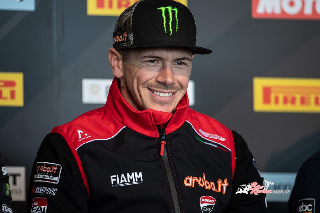 WorldSBK newcomer Scott Redding placed in the top six during the two-day test, an impressive start to his WSBK career.