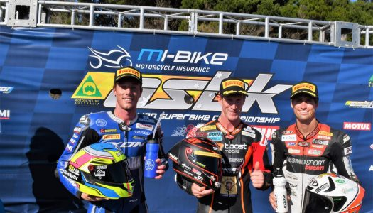 Wayne Maxwell makes it two wins from two starts in ASBK opener