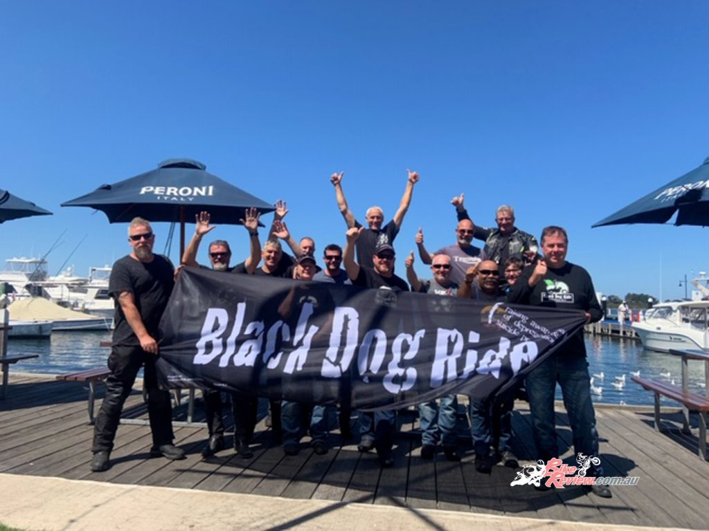 The Black Dog Ride is a perfect opportunity to enjoy a great weekend away with mates and create great memories