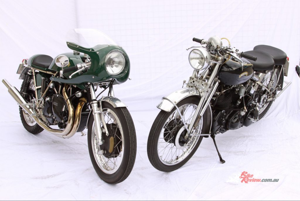 The Egli Vincent is powered by a modified Black Shadow engine. We will feature the Black Shadow next.