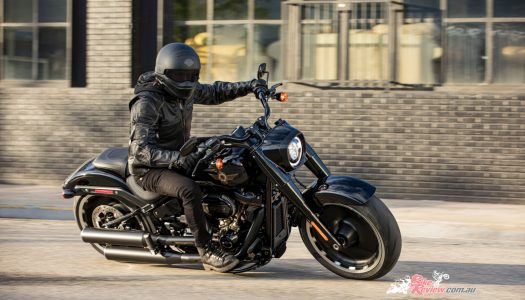New Harley Davidson CVO Road Glide and Fat Boy Models