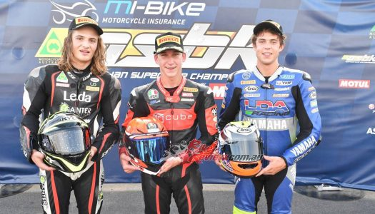 ASBK 2020: Motorsports TV Supersport, Bayliss Scores Maiden Win