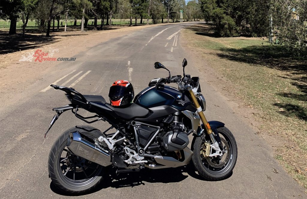 Click on the image to go to the official BMW Motorrad Australia R 1250 R page.