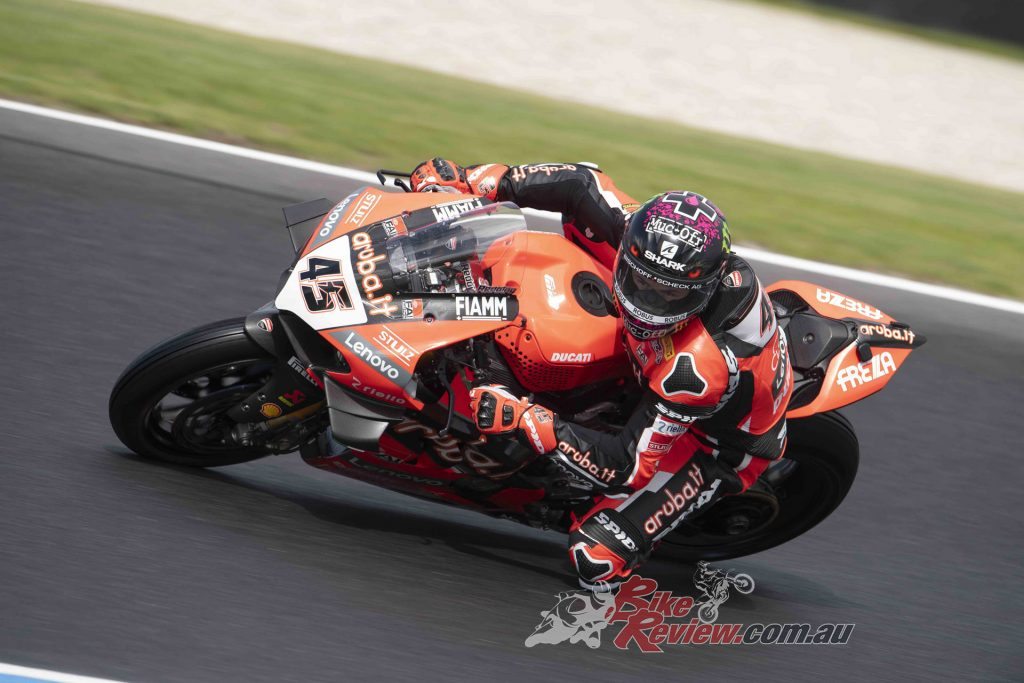 """""""It has been a long four months and there was a great desire to reconnect with the bike and the track."""""""