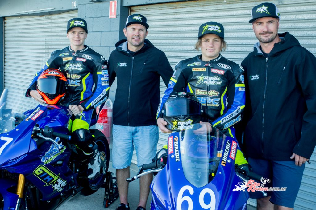 The GTR MotoStars team will be put to the test when the 2020 ASBK season kicks off in under two weeks at Phillip Island.