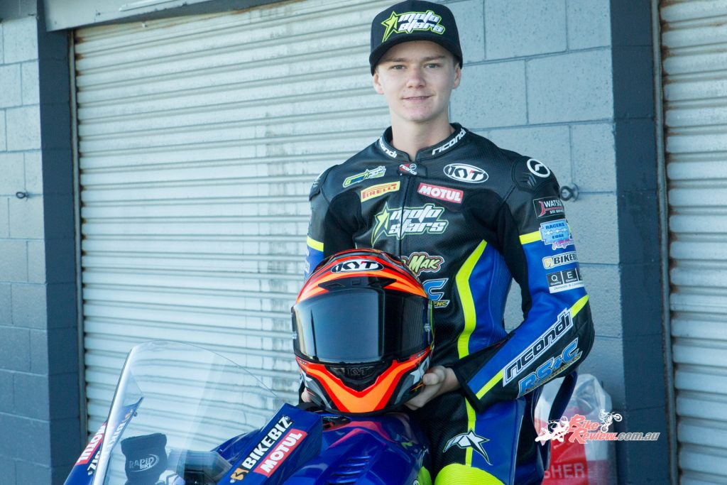 Max Stauffer will jump up to the Supersports 600 class for 2020, under the watchful eye of his father and ASBK champ Jamie Stauffer.