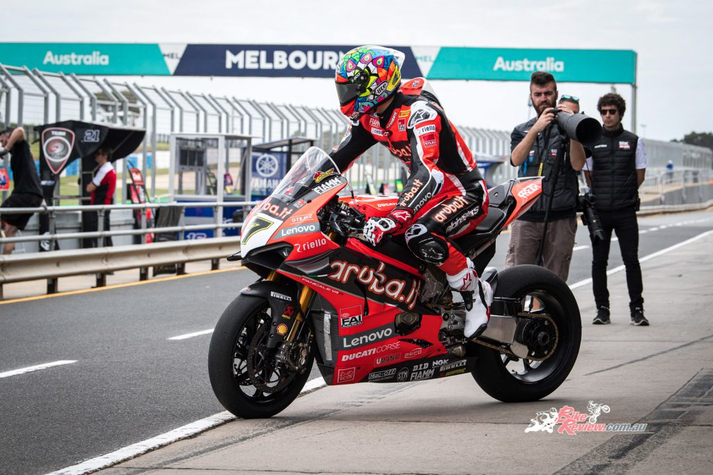 This season will be Davies' seventh season with Ducati, with Chaz stating that he feels much better this season, then the last.