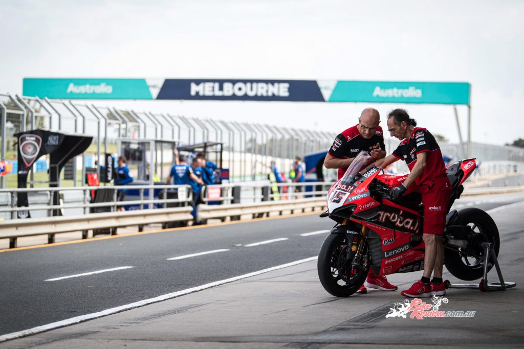 The team will compete on a pair of Ducati Panigale V4 R's for the 2020 World Superbike Championship.