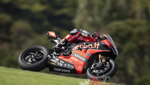 Aruba.it Ducati riders return to the track for testing