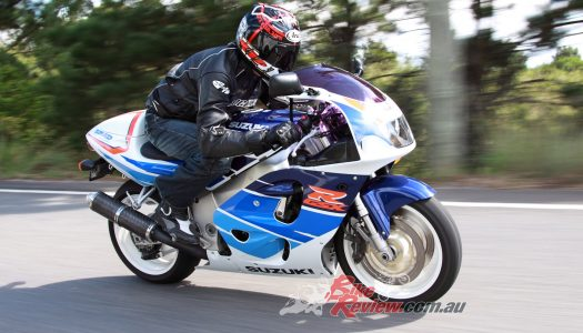 Retro Ride: Built to WIn, Suzuki GSX-R750T SRAD