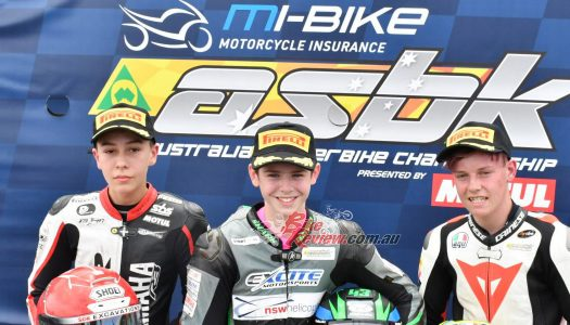 Harry Khouri Wins Close YMI Supersport 300 Battle
