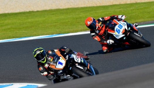ASBK Supersport: Tom Toparis wins from Oli Bayliss & Jack Passfield