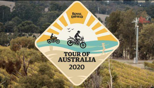 Royal Enfield Tour Of Australia, Bushfire Relief Ride