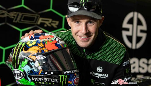 Rea's special Arai helmet auctions for nearly $30,000