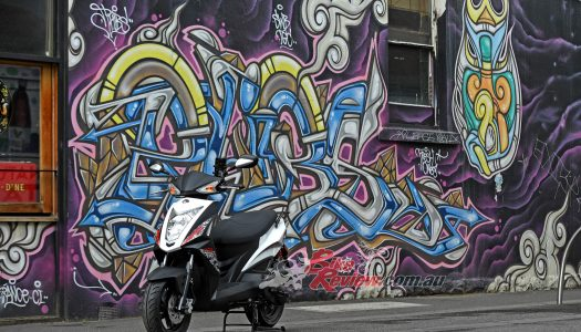 New Model: KYMCO Agility RS 125 scooter is now delivery ready…