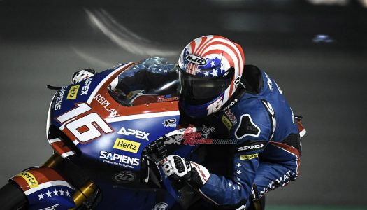 Qatar: Roberts takes first American Moto2 pole in a decade