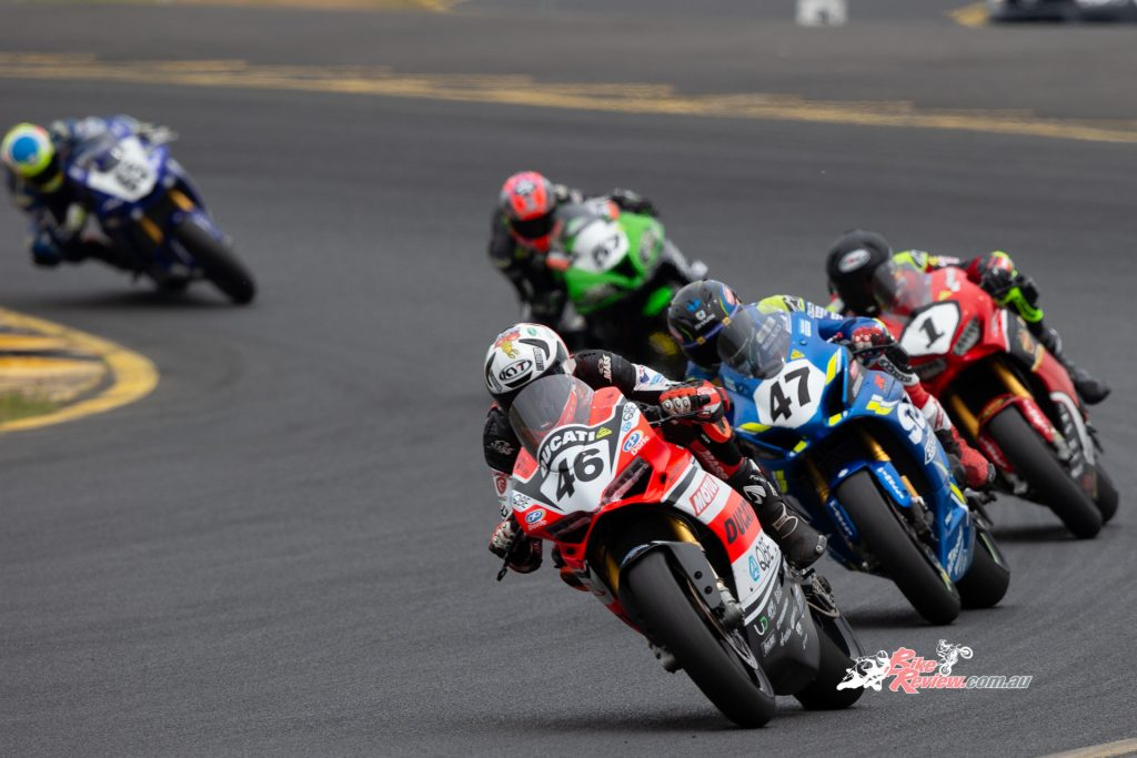 Mike Jones looks forward to one day racing in the World Superbike Championship and compete on the world stage.