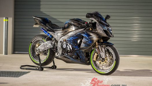 Amazing L&S Motorsports Turbo GSX-R1000 For Sale
